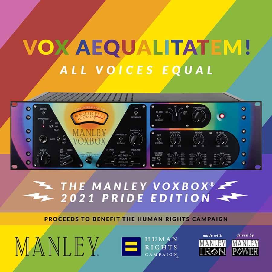 Manley VOXBOX 2021 Pride Edition