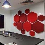 GIK DecoShapes Hexagon Acoustic Panels
