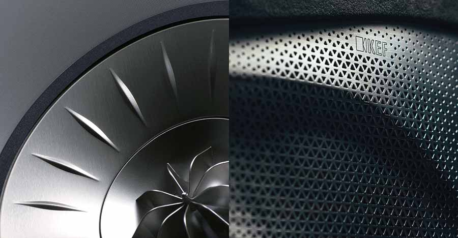 KEF Uni-Q Driver In-Car System For Lotus