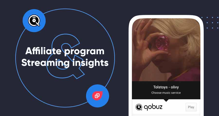 Qobuz and Linkfire have launched a new affiliate program for artists