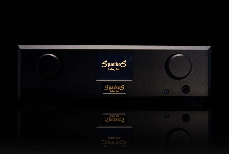 Sparkos Labs Airies headphone amplifier front