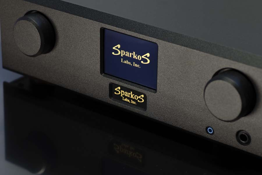 Sparkos Labs SparkoS Labs Aries Preamp and Headphone Amplifier Headphone Amp Side