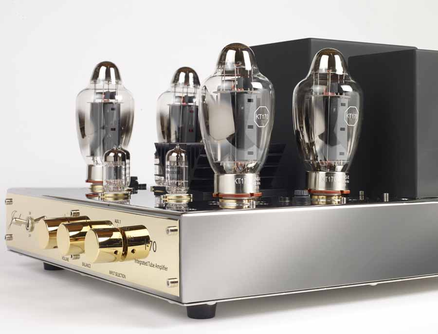 Jadis Diaphason Luxe And Jadis I-70 Integrated Valve Amplifiers