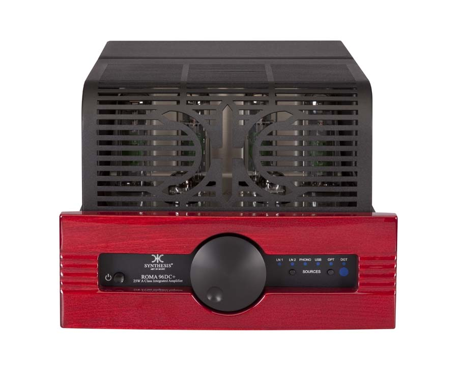 Synthesis Roma 96DC+ Front with cage