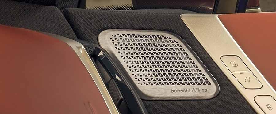 BMW iX With Bowers & Wilkins Diamond Surround Sound