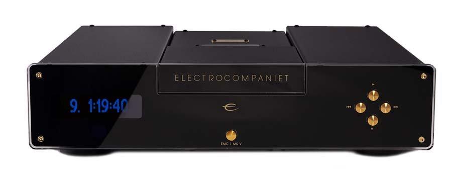 Electrocompaniet EMC1 MKV CD Player front