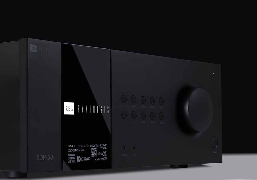 New JBL Synthesis HDMI 2.1/8K AV Products
