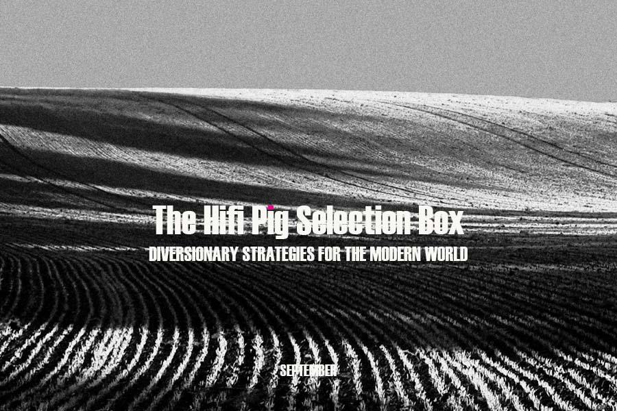 The HiFi Pig Selection Box September 2021