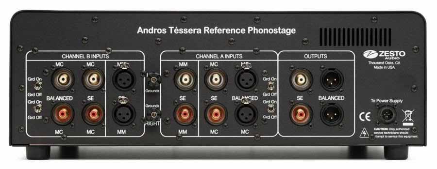 Zesto Audio Andros Téssera Reference Phonostage