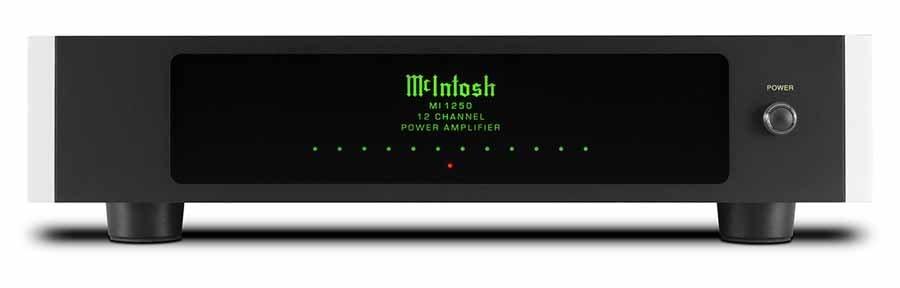 McIntosh MI1250 12 Channel Power Amplifier